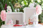 Candybar: Kleine Candybar mit weißen Kisten