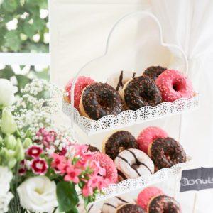 Donuts auf der Candybar